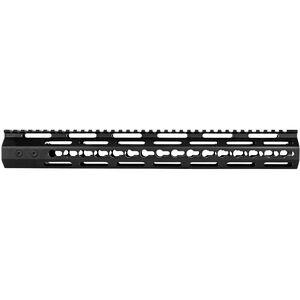 "Trinity Force AR-15 Echo 15"" Key-Mod Rail Freefloat Handguard Aluminum Black"