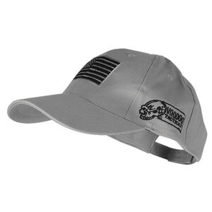 81bda416c0cebd Voodoo Tactical Contractor Baseball Cap w/Removable USA Flag Gray