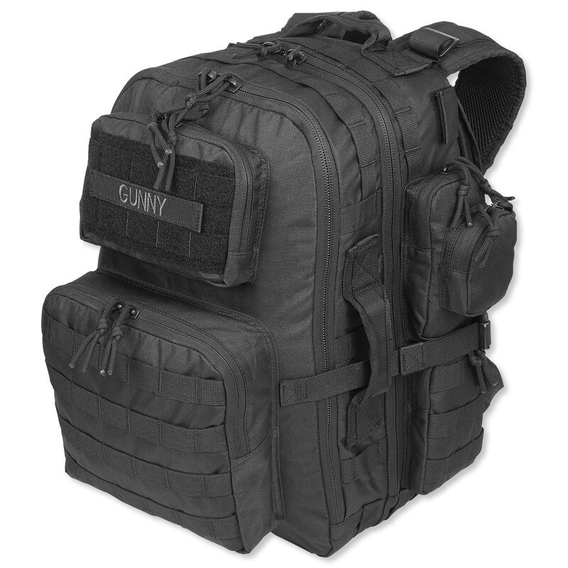 Tru-Spec Gunny Series Tour of Duty Backpack  Ballistic Pack Cloth Black