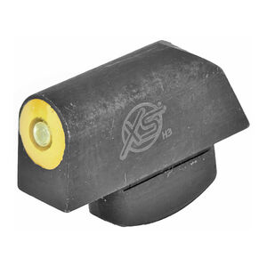 XS Sight Systems Big Dot Tritium Yellow S&W Bodyguard 38 Models Front Sight Only Matte Black