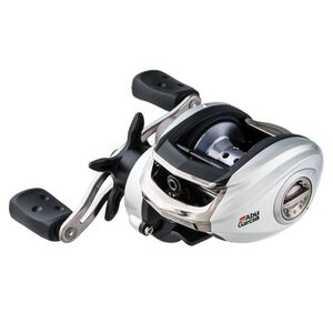 Silver Max Low Profile Reel LP, 6.4:1 Gear Ratio, 6 Bearings, 18 lb Max Drag, Right Hand, Clam Package