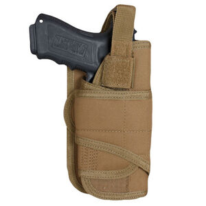 Fox Outdoor Cyclone Vertical Mount Modular Holster Large Autos Right Hand Nylon Coyote Tan 58-788