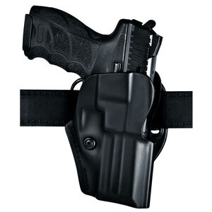 Safariland Model 5197 HK P30 Open Top Concealment Belt Holster Right Hand Laminate STX Plain Black 5197-295-411