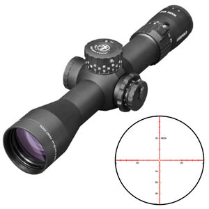 Leupold Mark 5HD 3.6-18x44 Rifle Scope Illuminated PR-1MOA Reticle 35mm Tube 0.25 MOA Adjustments Side Focus Parallax First Focal Plane Matte Black Finish