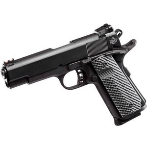 "Rock Island Armory TCM ROCK Ultra FS Combo 1911 Semi Auto Handgun .22 TCM / 9mm Luger 5"" Barrel 10 Rounds Parkerized Steel Frame G10 Grips Black 51962"