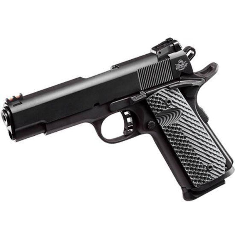 "Rock Island Armory TCM ROCK Ultra FS Combo 1911 Semi Auto Handgun .22 TCM / 9mm Luger 5"" Barrel 10 Rounds Parkerized Steel Frame G10 Grips Black 51962"