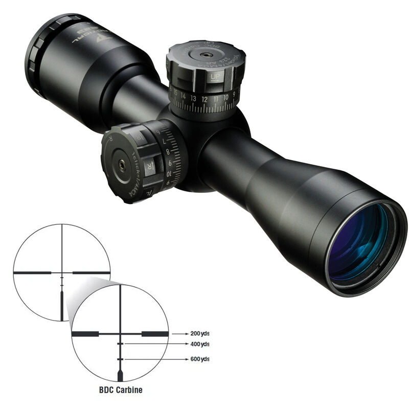 Nikon P-Tactical .223 3x32 Riflescope BDC Carbine Reticle Fixed Parallax Matte Black