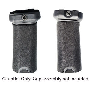 EZR Sport BCM Gunfighter Large Vertical Grip Size Large Gauntlet Grip Sleeve Sorbothane Black