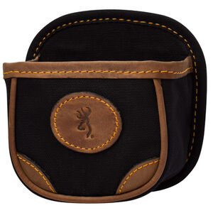 Browning Lona Canvas/Leather Shell Box Carrier Black