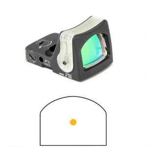 Trijicon RMR Dual Illuminated 7.0 MOA Amber Dot No Mount Black RM04