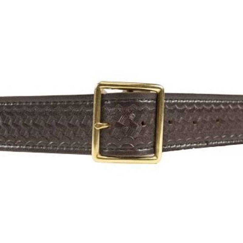 "Safariland Garrison Belt 40"" Waist Brass Buckle Basket Weave Finish Black 51-40-4B"