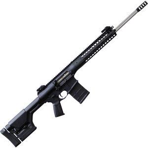 "LWRC REPR MK II .308 Win AR Style Semi Auto Rifle 20"" Barrel 20 Rounds Side Charging Handle Flip-Up Sights Magpul PRS Stock Black Finish"