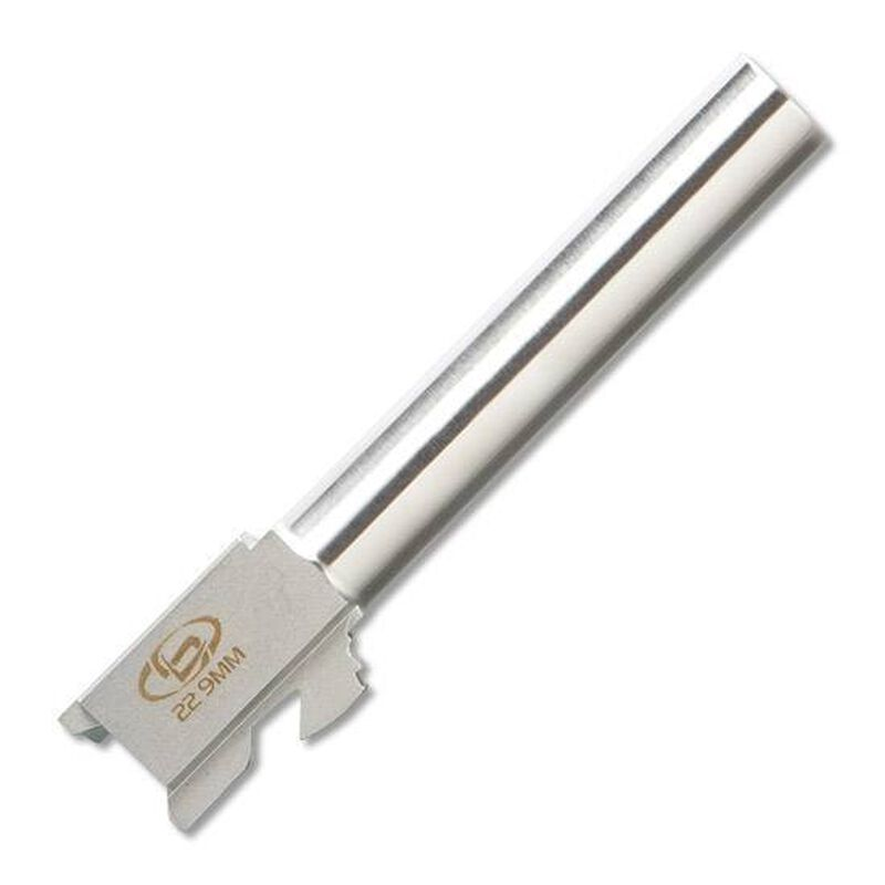 """StormLake 9mm Conversion Barrel For GLOCK 22 4.49"""" Stainless 34033"""