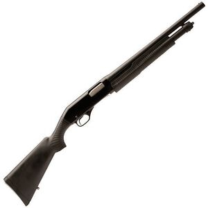 "Stevens 320 Pump Action Shotgun 12 Gauge 18.5"" Barrel 3"" Chamber 5 Rounds Synthetic Stock Bead Sight 19486"