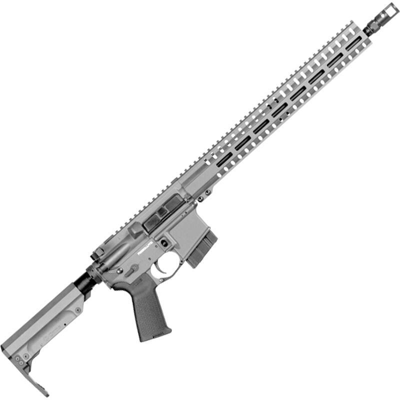 "CMMG Resolute 300 MkW-15 6.5 Grendel AR-15 Semi Auto Rifle 16"" Barrel 10 Rounds RML15 M-LOK Handguard RipStock Collapsible Stock Titanium Finish"