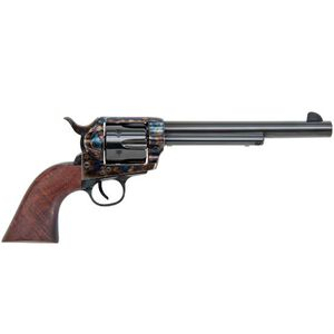 "Traditions Frontier Series 1873 Single Action Revolver .44 Magnum 7.5"" Barrel 6 Rounds Walnut Grips Case Hardened Finish SAT73-802"