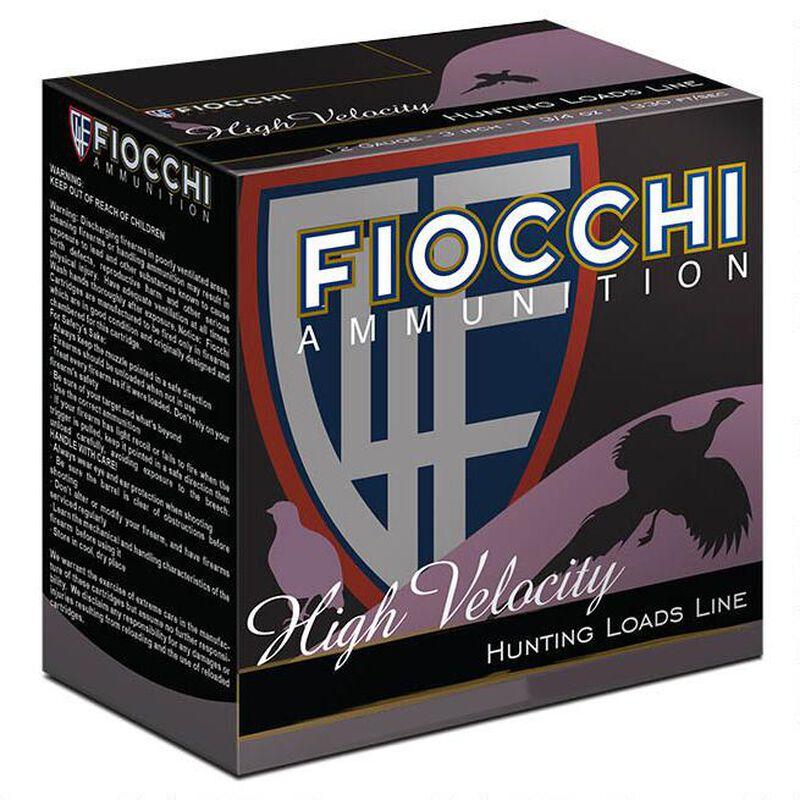 """Fiocchi 20 Gauge Ammunition 250 Rounds High Velocity 2.75"""" #8 Lead Shot 1.00 oz."""