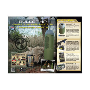 Convergent Bullet HP Game Calling Kit, HP-4000-KIT
