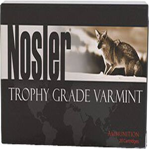 Nosler .22 Nosler Ammunition 20 Rounds NBT 55 Grains