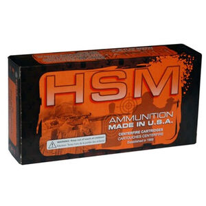 HSM Bear .450 Bushmaster Ammunition 20 Rounds 300 Grain Speer Jacketed Soft Point