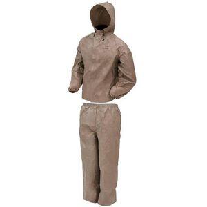Frogg Toggs DriDucks Ultra Lite2 Rain Suit Large Khaki UL12104-04-LG