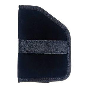 BLACKHAWK! Pocket Holster Size 4 Sub Compact 9/40 Autos Right Hand Nylon Black 40PP04BK