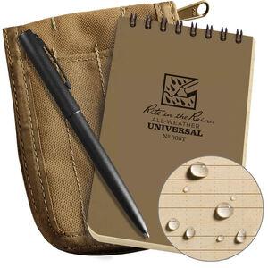 "Rite in the Rain All-Weather Notebook Kit 3"" x 5""  Waterproof Tan"