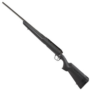 "Savage Axis Left Hand Bolt Action Rifle .22-250 Remington 22"" Sporter Profile Barrel 4 Rounds Detachable Box Magazine Synthetic Stock Matte Black Finish"