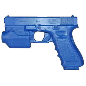Rings Blue Training Guns GLOCK 17 With Tactical Light Weighted Polymer Blue