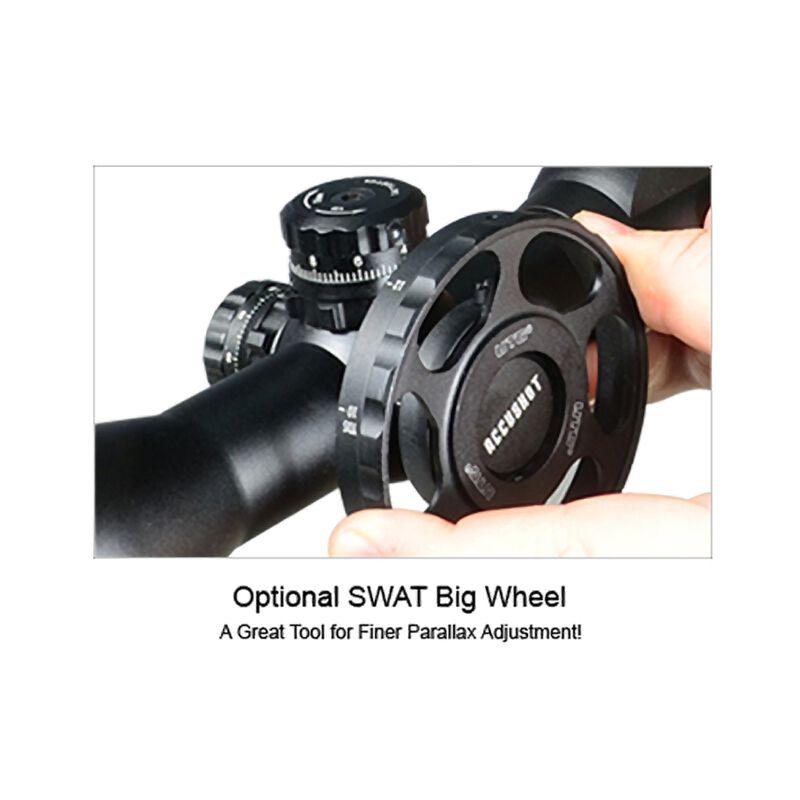 Leapers UTG 8-32x56 Rifle Scope Illuminated Mil-Dot Reticle 30mm Tube Integral Sunshade Matte Finish Black SCP3-UG832AOIEW