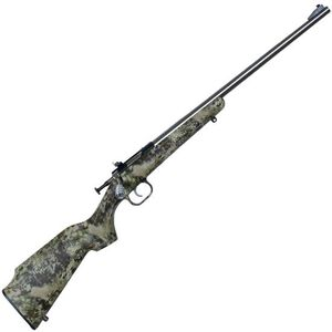 "Keystone Arms Crickett Single Shot Bolt Action Rimfire Rifle .22 LR 16.125"" Barrel Kryptek Camo Synthetic Stock Stainless Finish"