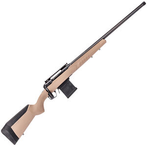 "Savage 110 Tactical Desert Bolt Action 6mm Creedmoor 26"" Threaded Heavy Barrel 10 Round Detachable Magazine AccuTrigger AccuStock Flat Dark Earth"