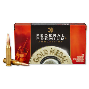 Federal .260 Remington Ammunition 20 Rounds SMK BTHP 142 Grains