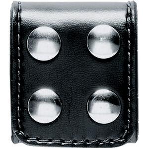 Safariland 4-Snap Slotted Belt Keeper Brass Snaps SafariLaminate Plain Black