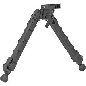 "Accu-Tac LR-10 G2 Bipod, Aluminum, Quick Detach Rail Mount, 8.75""-12"", Black"