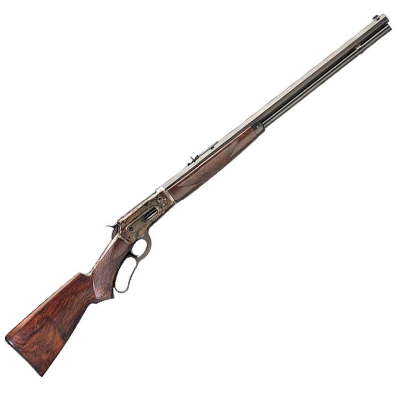 """Pedersoli Model 1886 Far West Lever Action Rifle .45-70 Govt 26"""" Octagonal Barrel 8 Rounds Color Case Hardened Receiver Walnut Stock Blued S.738-457"""
