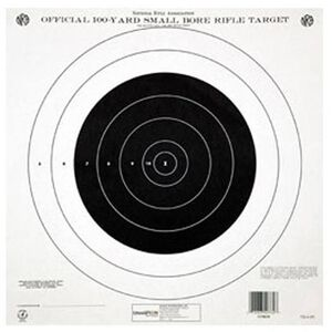 Champion NRA TQ-4P 100 Yard Small Bore Rifle Target 12 Pack Paper 40762