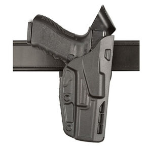 Safariland Model 7390 7TS ALS Mid-Ride Duty Belt Holster Right Hand Fits GLOCK 17/22 SafariSeven Basket Weave Black