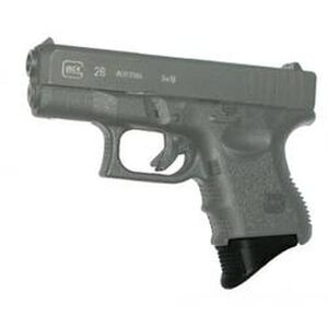 Pearce Large Grip Extension For GLOCK 26/27/33/39 Polymer Black PG-26XL