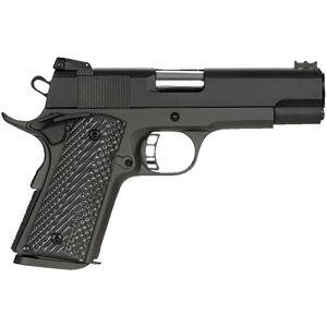 "Rock Island Armory Rock Ultra CCO 1911 Semi Auto Handgun .45 ACP 4.25"" Barrel 7 Rounds Steel Frame G10 Grips Black"