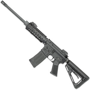 "Rock River LAR-15 BTB Carbine 5.56 NATO AR-15 Semi Auto Rifle 16"" Barrel 30 Rounds Flip-Up Sights RRA NSP-2 Drop-In Handguard Collapsible Stock Black"