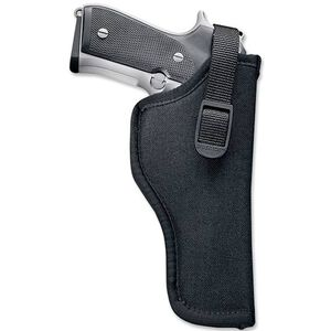 "Uncle Mike's Sidekick Hip Holster Size 16 3.25""-3.75"" Barrel Medium/Large Frame Autos Right Hand Nylon Black 81161"