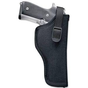 """Uncle Mike's Sidekick 8.38"""" Raging Bull, 8.38"""" S&W Full Lug N-frame Revolver Hip Holster Right Hand Nylon Black 81191"""