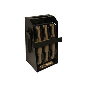 Mag Storage Solutions AR-15 Mag Safe-3 Steel Black
