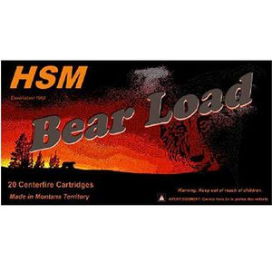 HSM Bear Load .45-70 GOVT +P 430 Grain RN 20 Round Box