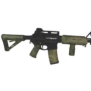 Matrix Diversified Industry AR-15 Magpul Furniture Kit Mil-Spec Polymer A-TACS FG Camo Finish MAGMIL24FG