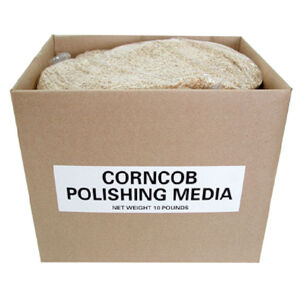 Polishing Media Corncob Polishing Media 10 lb Box Yellow