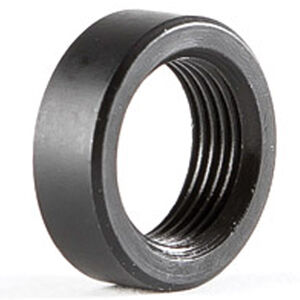 Dead Air Armament Rimfire Rifle Thread Spacer For .22 LR Suppressors 1/2-28 TPI Steel Black DA423