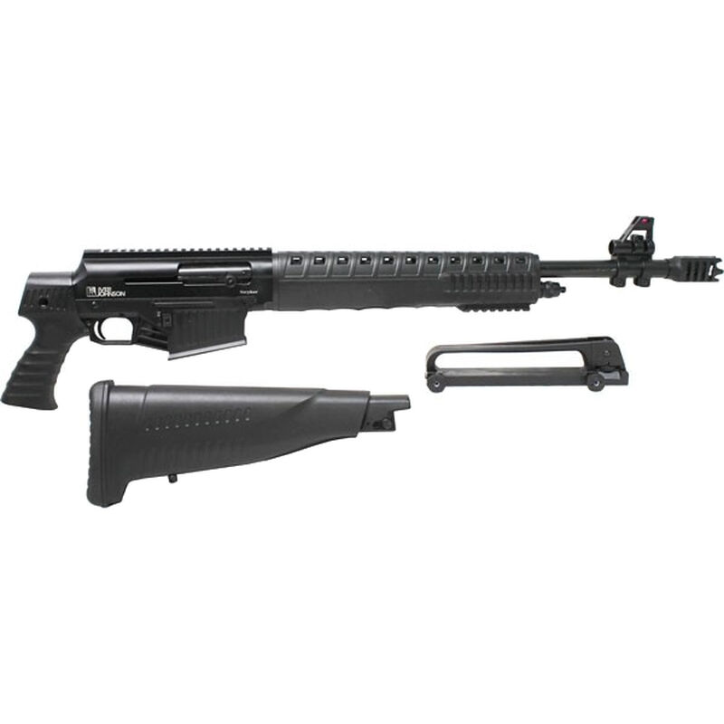 "Iver Johnson Stryker-12 AR Style Semi Auto Shotgun 12 Gauge 20"" Barrel 3"" Chamber 5 Rounds Two Piece Pistol Grip Stock Black Finish"