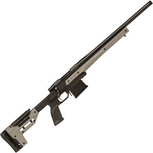 """Howa Oryx by MDT 6.5 Creedmoor Bolt Action Rifle 24"""" Threaded Barrel 10 Rounds with Optics Rail Gray Oryx Monolithic Aluminum Chassis Black Finish"""